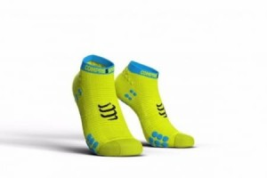 Compressport skarpetki ProRacing V3.0 stópki żółte