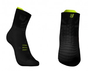 Compressport skarpetki Pro Racing Black Edition