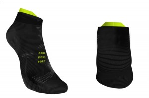 Compressport skarpetki Pro Racing Black Edition stópki