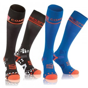 Compressport skarpety kompresyjne długie Full Socks V2.1