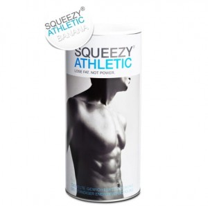 Squeezy Athletic 675g bananowy