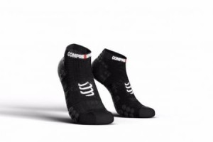 Compressport skarpetki ProRacing V3.0 stópki, czarne