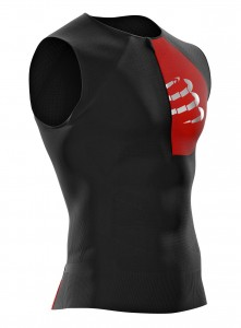 Compressport koszulka triathlonowa Postural Tank Top
